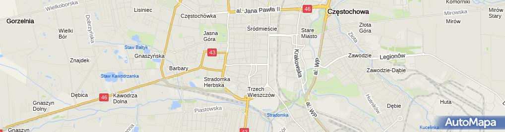 Zdjęcie satelitarne ARiMR- Śląski Oddział Regionalny