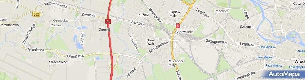 Zdjęcie satelitarne Kościół Opatrzności Bożej