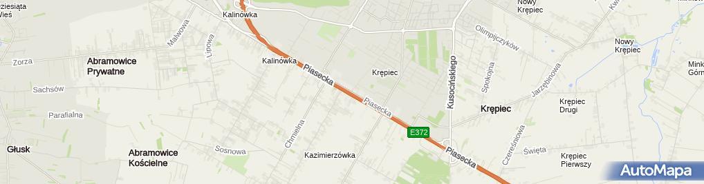 Zdjęcie satelitarne BALEXMETAL Lublin