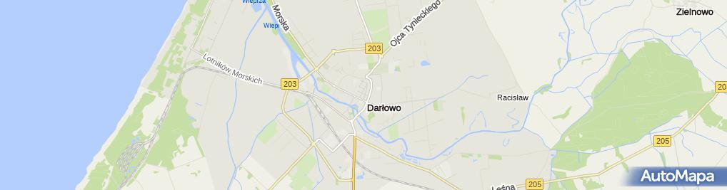 Zdjęcie satelitarne Pod Rycerzem Bar Bistro