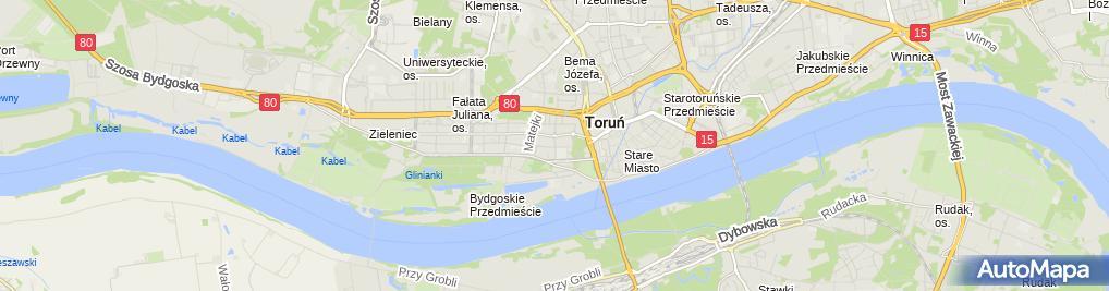 Zdjęcie satelitarne Oddział Paszportowy