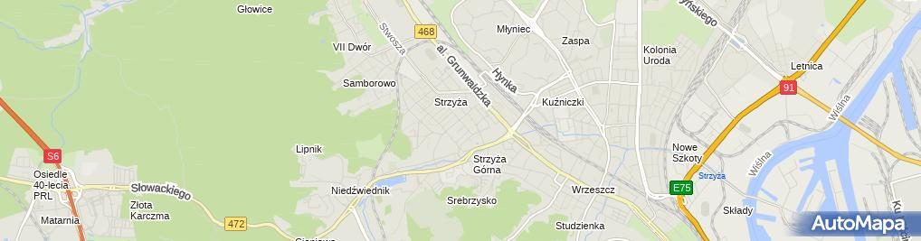 Zdjęcie satelitarne elektryk Gdańsk Instalacje Elektryczne naprawa awaria usterka
