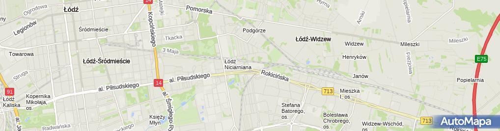Zdjęcie satelitarne Sklep CB Radio
