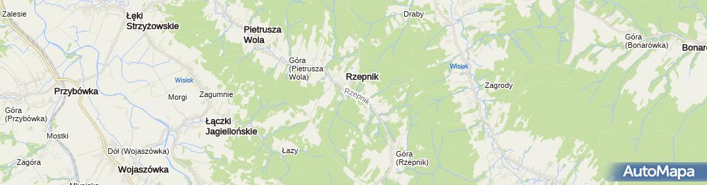 Zdjęcie satelitarne Cerkiew