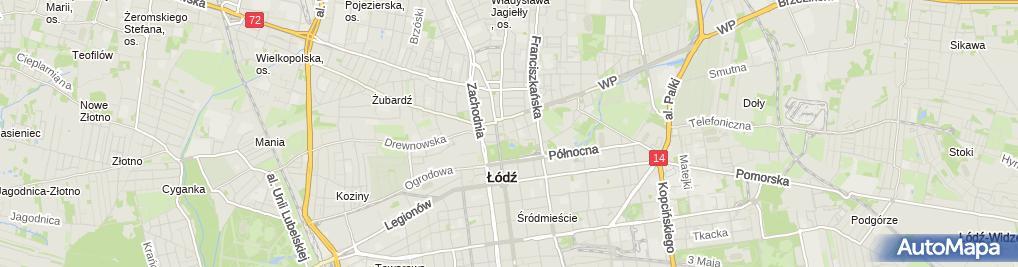 Zdjęcie satelitarne Prywatna Praktyka Lekarsko-Dentystyczna - Piotr Szymor