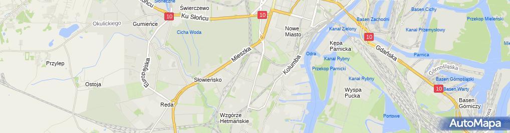 Zdjęcie satelitarne Wizfon