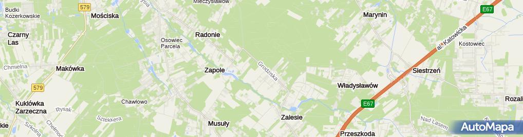 Zdjęcie satelitarne Instalatorstwo Elektryczne Sobolewski Zdzisław