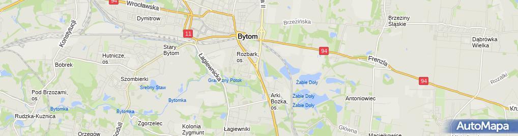 Zdjęcie satelitarne Salon Fryzjerski Kamila