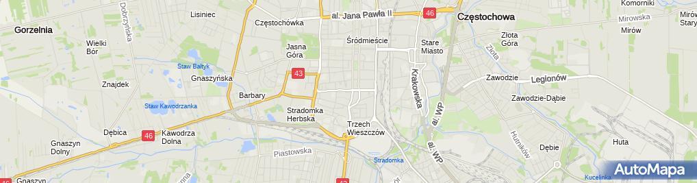 Zdjęcie satelitarne Stowarzyszenie Przyjaciół Powiatu Bodeńskiego