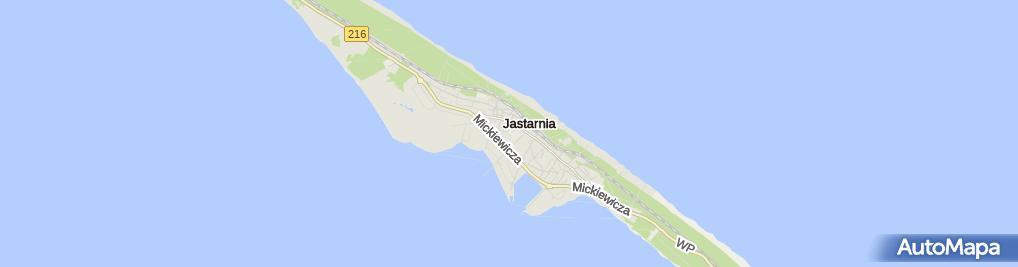 Zdjęcie satelitarne Hala Widowiskowo-Sportowa