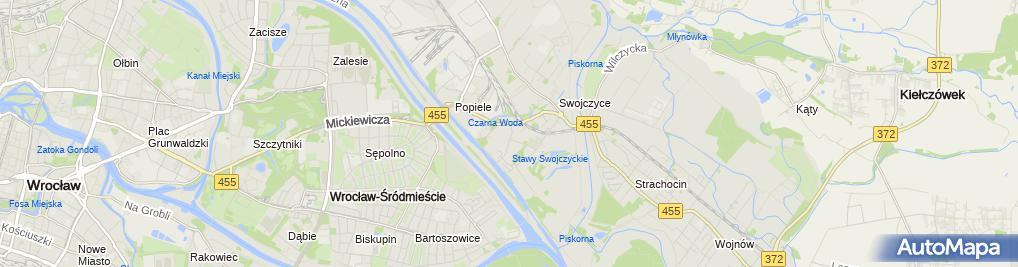 Zdjęcie satelitarne Usługi IT Michał Beczek