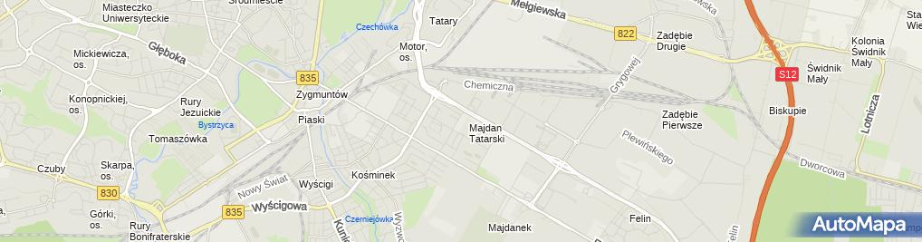 Zdjęcie satelitarne Sklep, Hurtownia Inter Cars