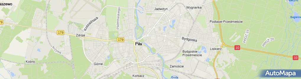 Zdjęcie satelitarne Sklep Komputerowy