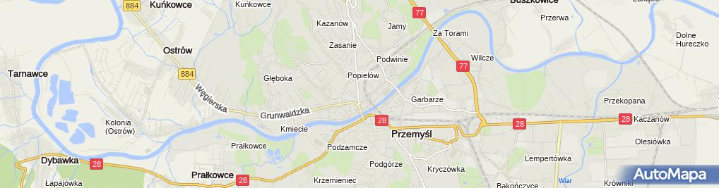 Zdjęcie satelitarne mBank