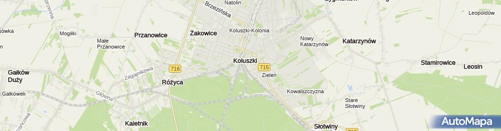 Zdjęcie satelitarne Zakład Przetwórstwa Mięsnego PIEKARSKI