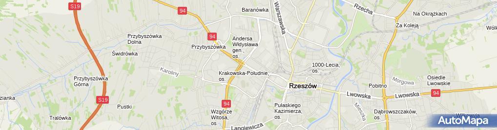 Zdjęcie satelitarne Bar Domowy