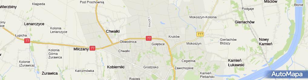 Zdjęcie satelitarne Motel
