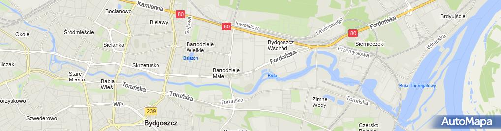 Zdjęcie satelitarne OBI