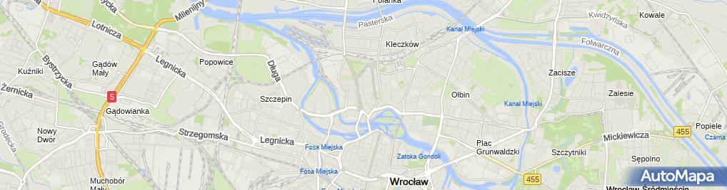 Zdjęcie satelitarne Bunga Bunga