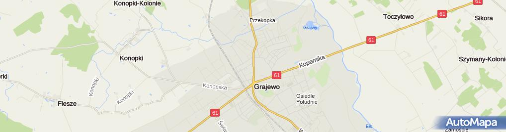 Zdjęcie satelitarne Savona