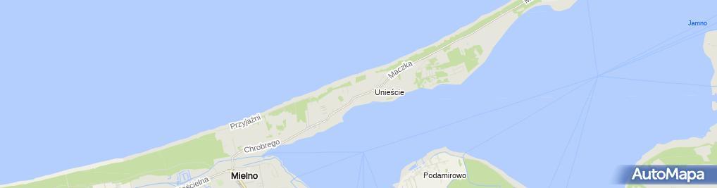 Zdjęcie satelitarne Miejski Ośrodek Pomocy Społecznej w Mielnie