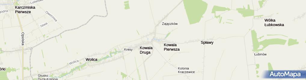 Zdjęcie satelitarne Bożena Sosik - Działalność Gospodarcza
