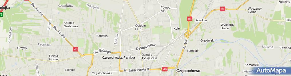 Zdjęcie satelitarne Jagopol 1 Marszałek Damian