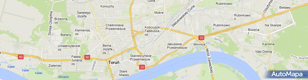 Zdjęcie satelitarne KONTAKT S.A.