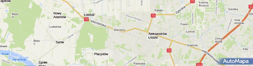 Zdjęcie satelitarne Usługi Na Owerlok