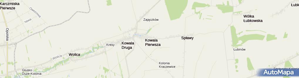 Zdjęcie satelitarne Waldemar Piątek - Działalność Gospodarcza