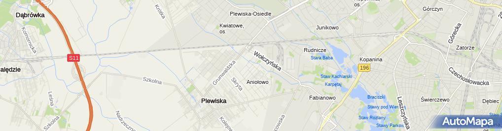 Zdjęcie satelitarne Wera Irena Staśkowiak