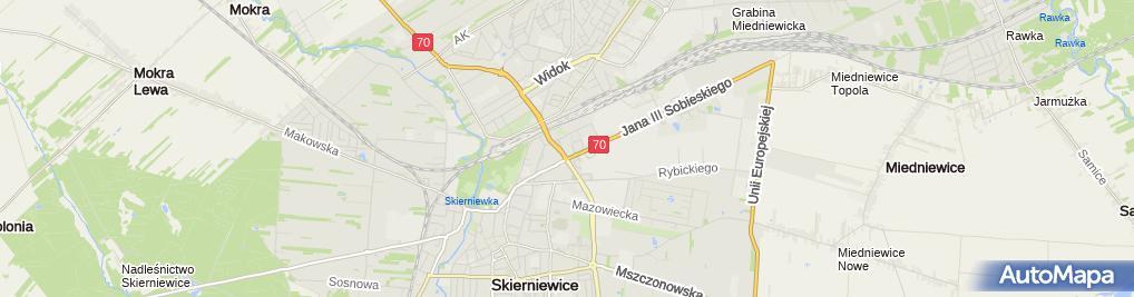 Zdjęcie satelitarne Eskulap