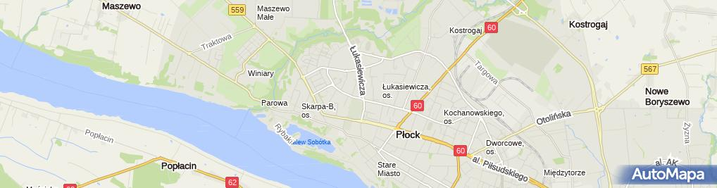 Zdjęcie satelitarne ZOZ Przychodnia Specjalistyczna