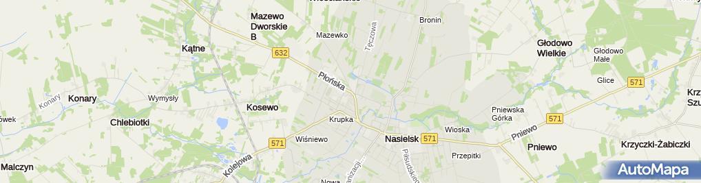 Zdjęcie satelitarne Wasbruk
