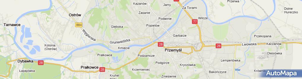 Zdjęcie satelitarne Lech Club Sport