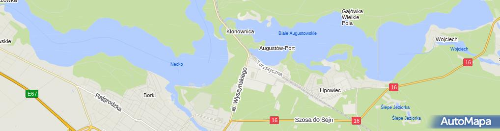 Zdjęcie satelitarne Restauracja Krechowiak
