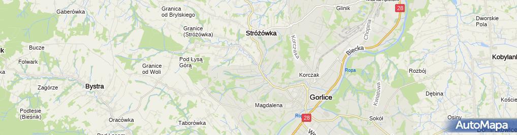 Zdjęcie satelitarne Restauracja Pod Kogutkiem