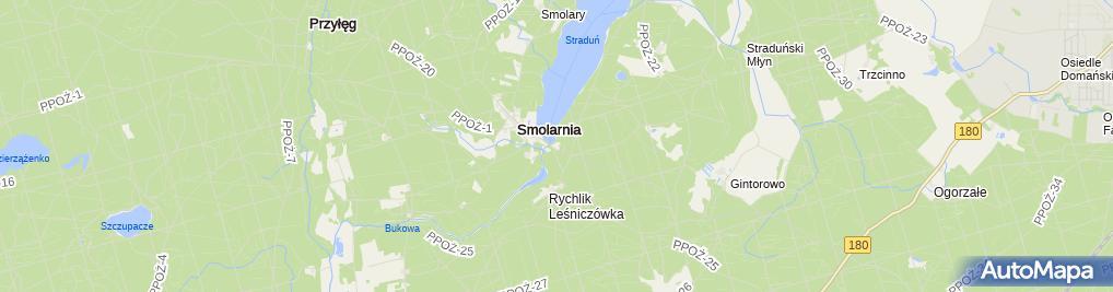 Zdjęcie satelitarne Restauracja Smolarnia