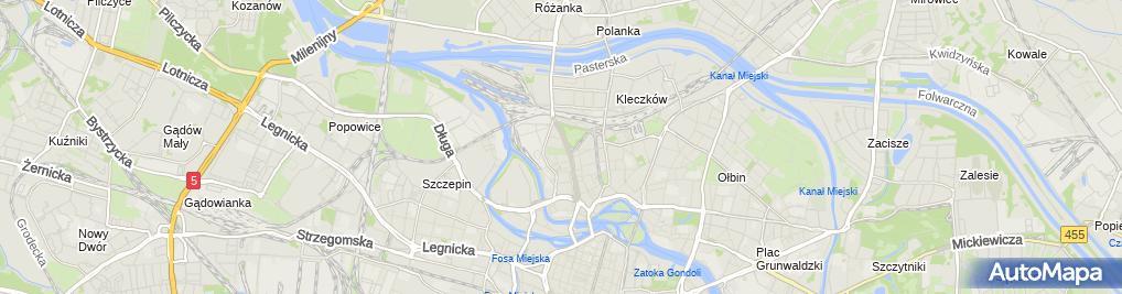 Zdjęcie satelitarne św. Bonifacego