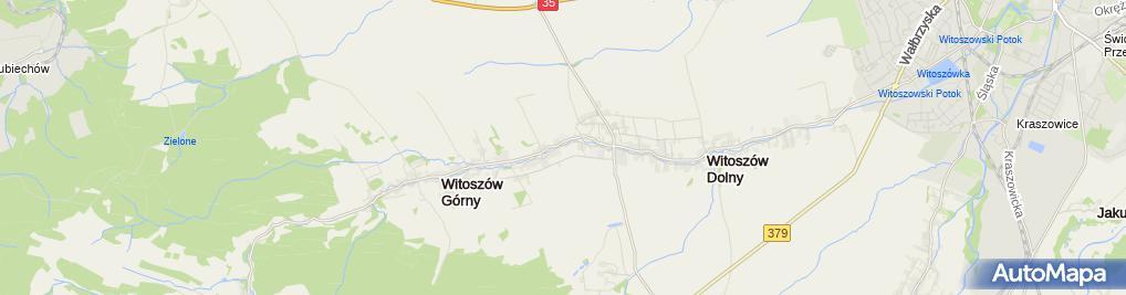 Zdjęcie satelitarne Ochotnicza Straż Pożarna Witoszów Dolny