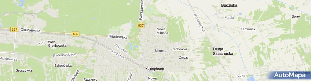 Zdjęcie satelitarne Strzelnica Parabellum