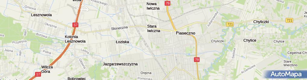 Zdjęcie satelitarne Leader School Elżbieta Wojciechowska