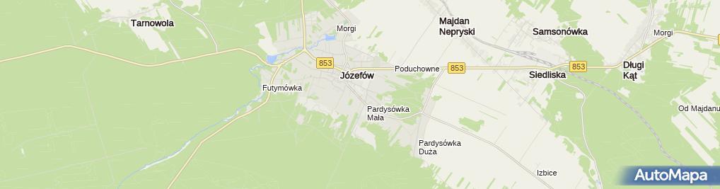 Zdjęcie satelitarne im. Mieczysława Romanowskiego
