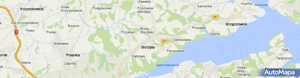 Zdjęcie satelitarne im. Stanisława Wyspiańskiego