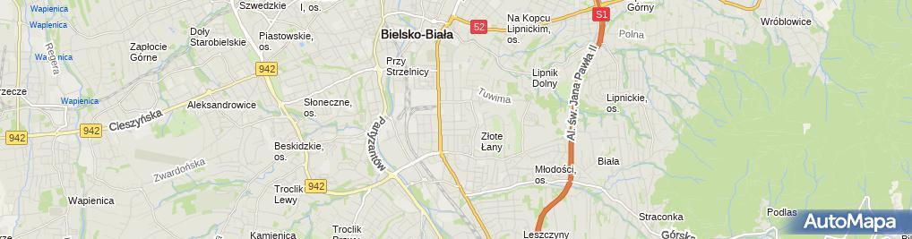 Zdjęcie satelitarne ZS Rzemieślniczych im. Stanisława Staszica