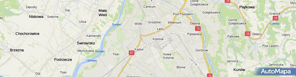 Zdjęcie satelitarne ZUS