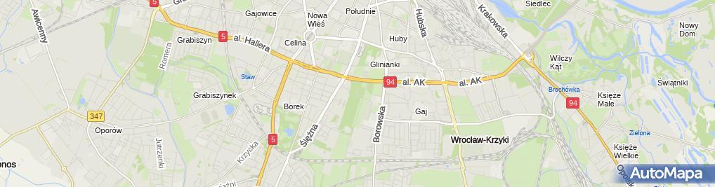 Zdjęcie satelitarne Park Skowroni