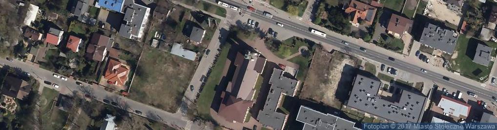 Zdjęcie satelitarne Kościół Parafialny Matki Boskiej Saletyńskiej
