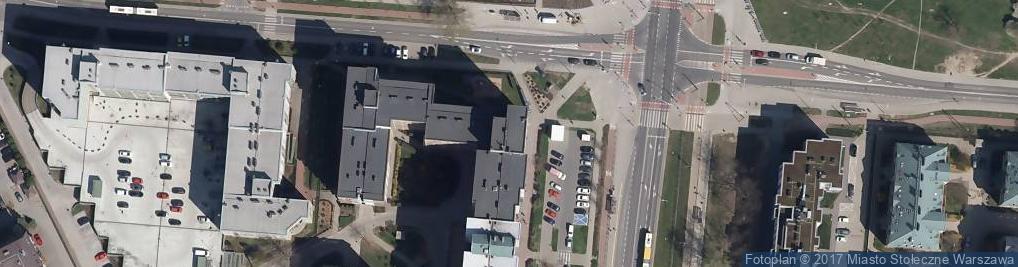 Zdjęcie satelitarne Credit Agricole