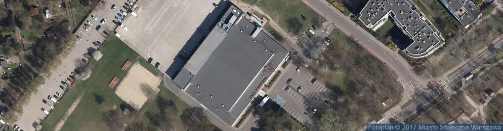 Zdjęcie satelitarne Hala Sportowa OSiR Bemowo